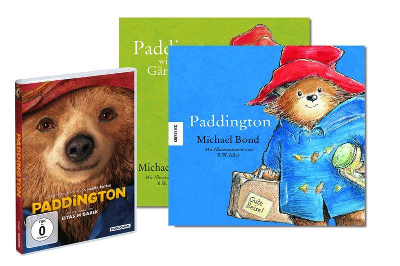 Paddington_DVD+Bücher